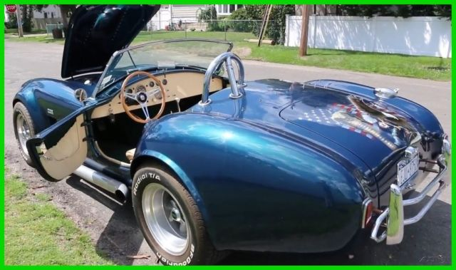1965 Ford Other 1965 Ford Shelby Cobra Replica Soft Top Convertibl