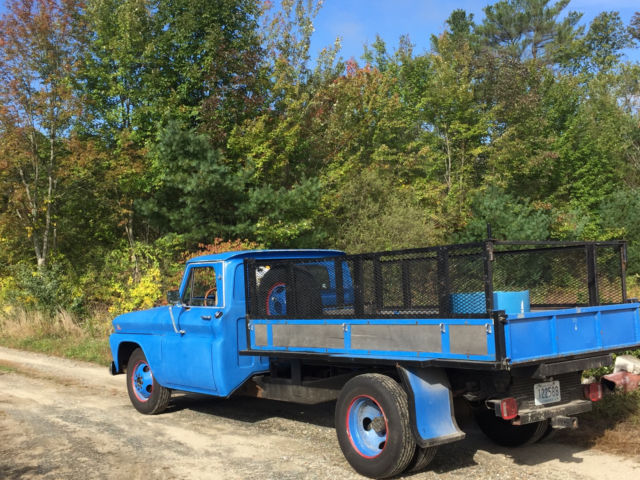 1965 GMC Classic 3500 Truck, V6, Blue for sale: photos