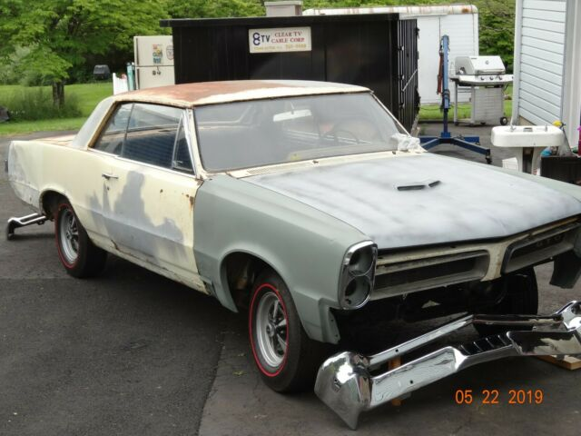 1965 GTO Hardtop, PHS Documented, In need of restoration. Many new parts