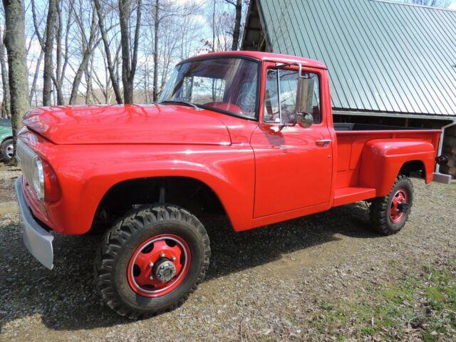 1965 International step side pickup truck D1300 4x4 for sale