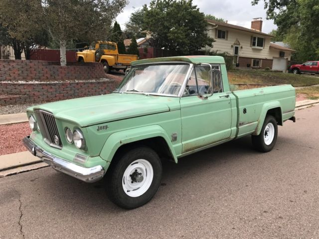 1965 Jeep Gladiator Short Bed Truck J200 4x4 Amc V8 J10 J3000