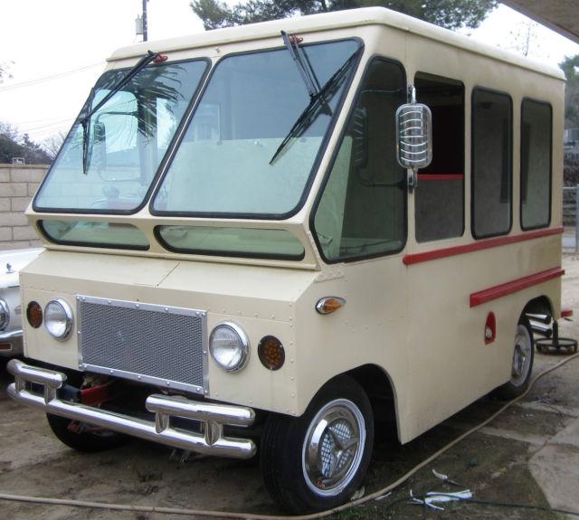 Old Postal Jeeps For Sale: 1965 Jeep Kaiser Fleetvan Restored Ice Cream Truck Service