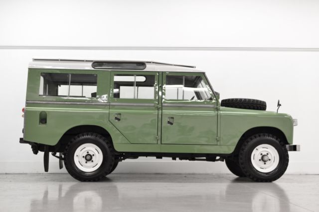 1965 Land Rover 109 Series Iia 2 25l Gas For Sale