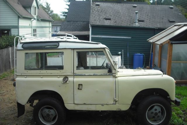 1965 Land Rover Series Iia 2a 2 Door Utility 4x4 88 For
