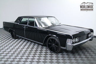1965 Lincoln Continental SUICIDE DOORS. BLACK. RESTORED AND CUSTOM