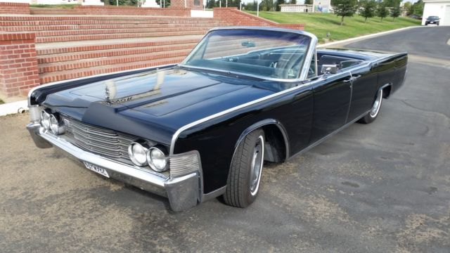 1965 lincoln continental convertible free shipping to the. Black Bedroom Furniture Sets. Home Design Ideas