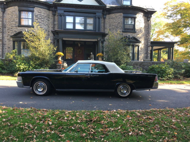 1965 lincoln continental convertible second owner almost. Black Bedroom Furniture Sets. Home Design Ideas
