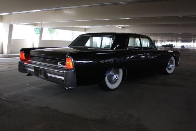 1965 lincoln continental sedan ca black plates suicide. Black Bedroom Furniture Sets. Home Design Ideas
