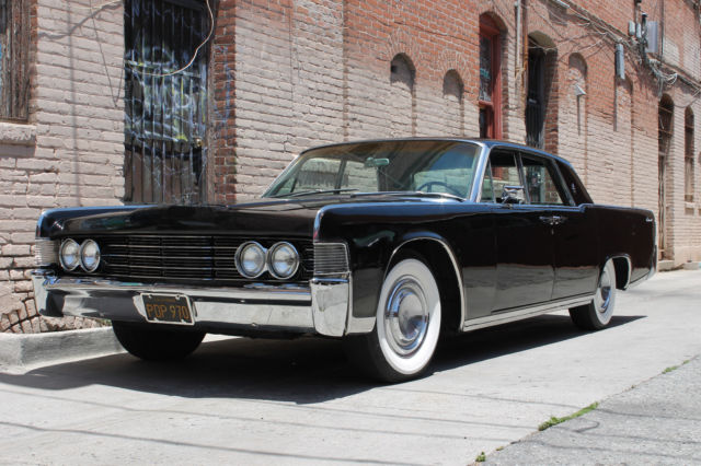 1965 Lincoln Continental leather