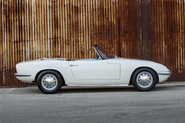 1965 Lotus Elan S1 Roadster for sale photos technical