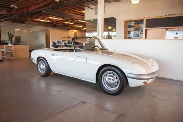 1965 Lotus Elan S2 Roadster