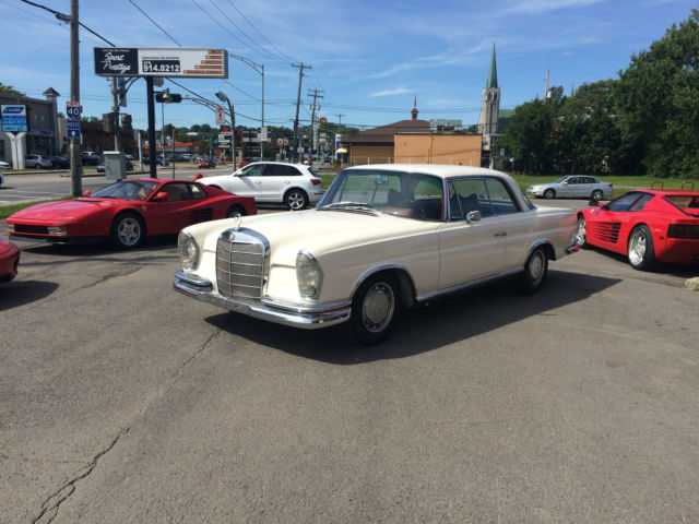 1965 mercedes benz 220 se coupe w 111 european car for for 1965 mercedes benz 220se for sale