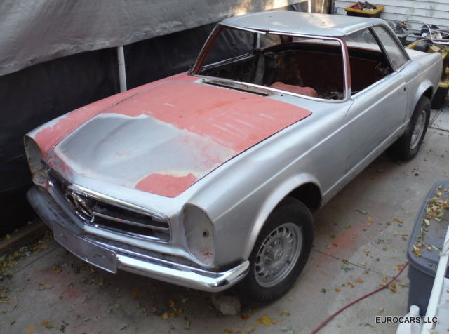 1965 mercedes benz 230sl project 4 speed 280sesl engine hardtop pagoda 113 1 1965 mercedes benz 230sl project 4 speed 280se sl engine hardtop Mercedes 300SL at gsmx.co