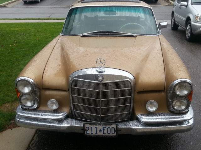 1965 mercedes w111 250se coupe 4sp euro manual sunroof for for Mercedes benz ontario phone number