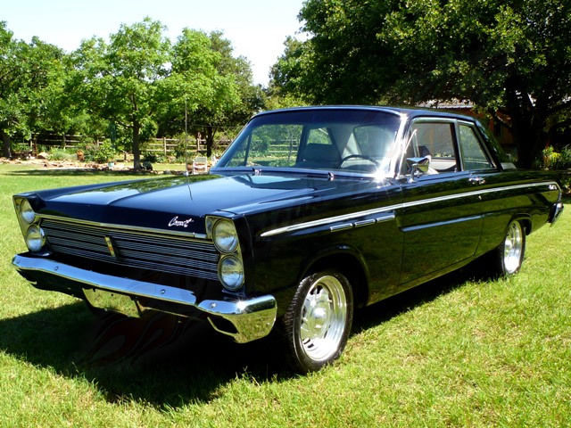 1965 Mercury Comet 404 Restored Rust Free Muscle Car Low Miles Black