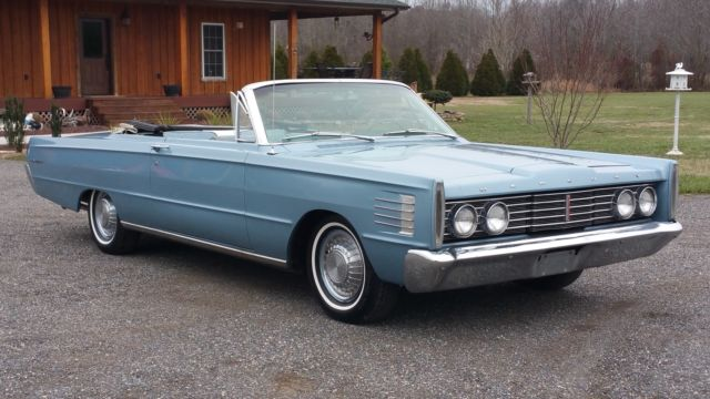 1965 Mercury Monterey Convertible 390 Motor Auto Trans Beautiful Full Size Vert
