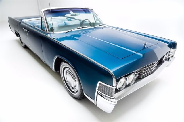 1965 Lincoln Continental Metallic Blue, Loaded