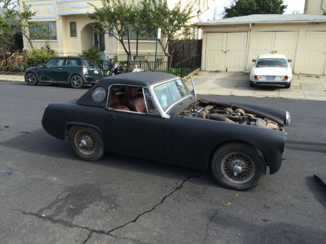 mg midget california ragtop with no reserve title