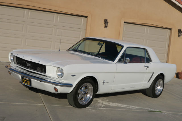 1965 Ford Mustang 302 V8 C CODE CLEAN CALIFORNIA CAR, NICE PAINT !!