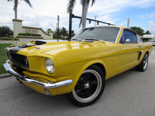 1965 MUSTANG CELEBRITY OWNED! SHELBY TRIBUTE NEW 427 550HP FULL