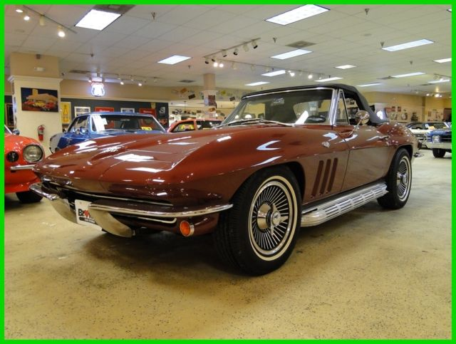 1965 Chevrolet Corvette Numbers Matching