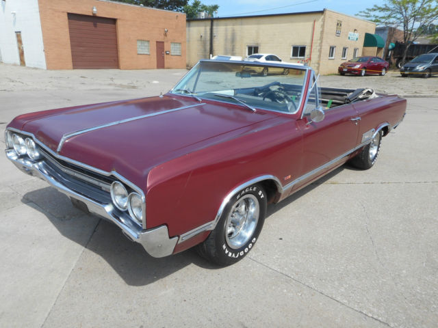 1965 Oldsmobile 442 NO RESERVE AUCTION - LAST HIGHEST BIDDER WINS CAR!