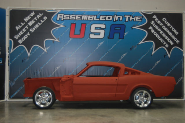1965 Or 1966 Mustang Fastback Body Shell Not Original Ford