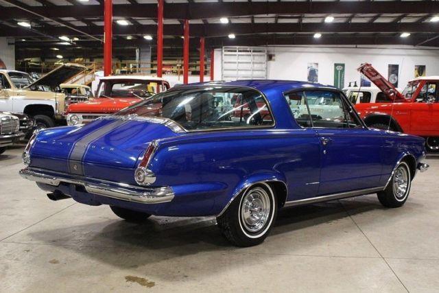 1965 Plymouth Barracuda 78403 Miles Medium Blue Metallic
