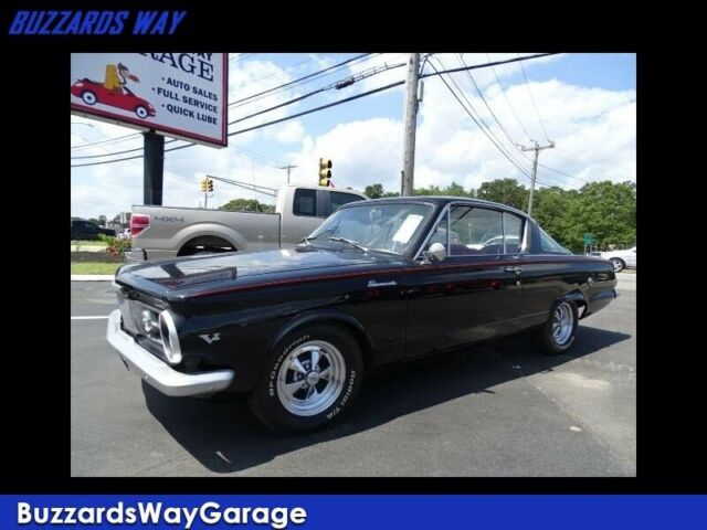 1965 Plymouth Barracuda Classic coupe 38083 Miles Black 318 4 Speed