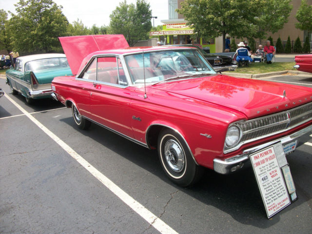 1965 Plymouth Satellite TWO DOOR HARD TOP