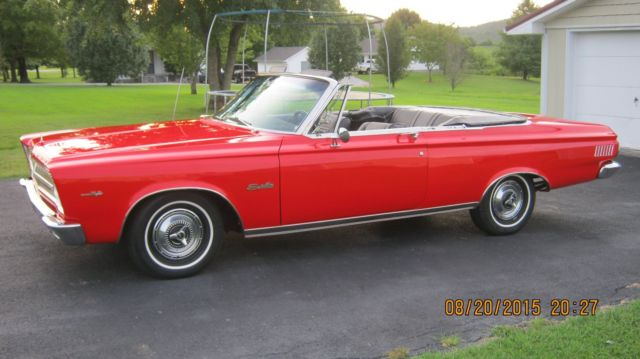 1965 Plymouth Satellite Convertable