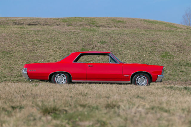 1965 Red Pontiac GTO Tri Power 4 Speed Other with Black interior
