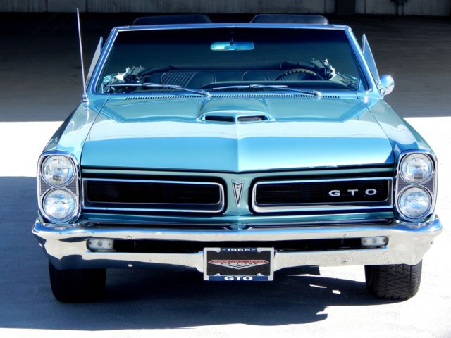 1965 Pontiac GTO Convertible with 4-speed & Tri-power