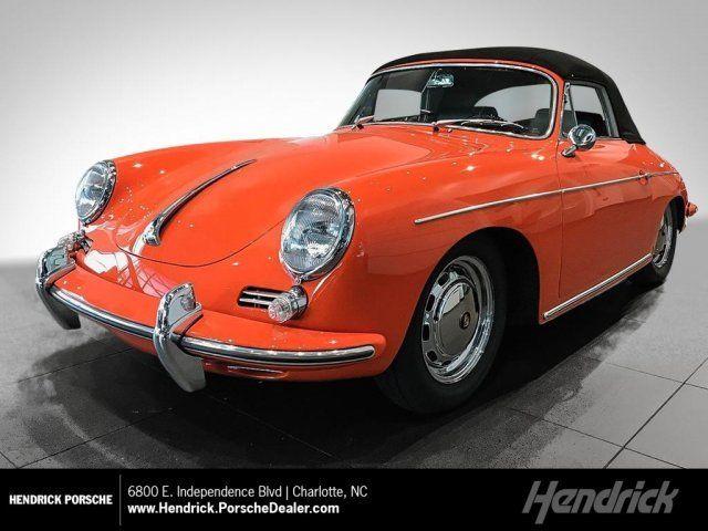 1965 Porsche 356c 1600c Reutter Cabriolet 0 Miles Paint To Sample Orange Convert