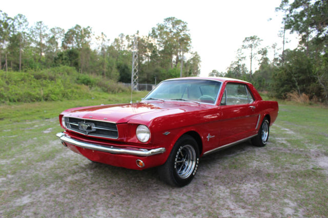 1965 Ford Mustang Mustang Coupe Pony Interior Must See Call Now