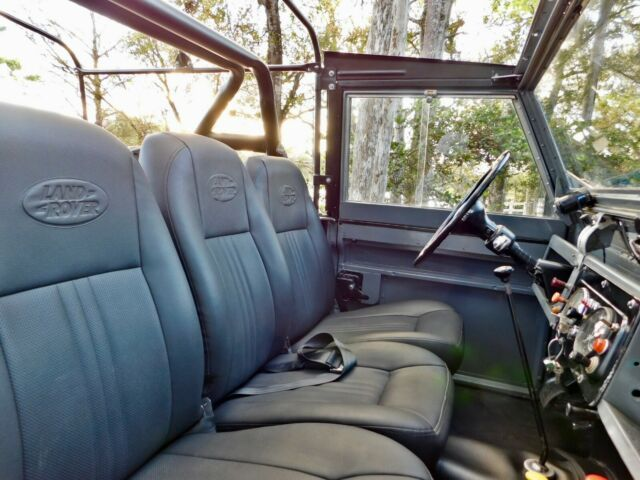 1965 Grey Land Rover Series IIA SUV with Black interior