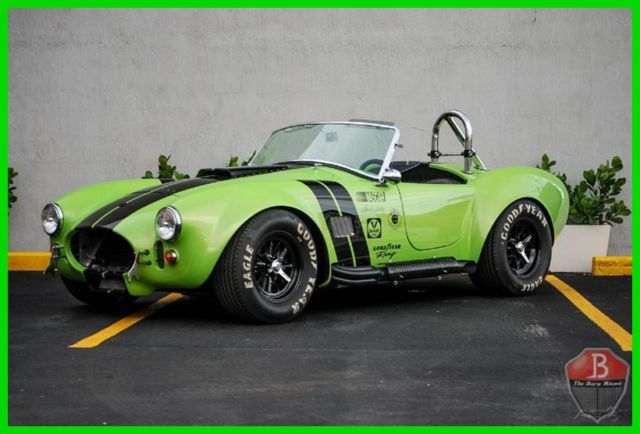 1965 Shelby MK3 FACTORY 5 MK3 WITH OEM FORD MOTOR 4 WEBBER CARS