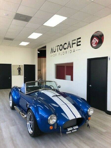 1965 Blue Shelby Cobra 427 Replica * NEW Iconic 427 V-8 480 HP Convertible with Black interior