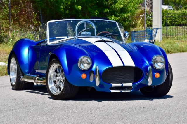 1965 SHELBY COBRA Backdraft Racing 427SC Roadster for sale