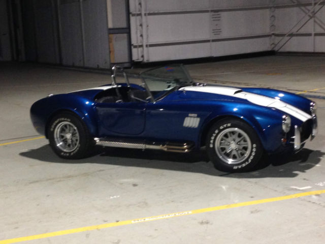 1965 Shelby SHELBY COBRA BACKDRAFT RACING  SHELBY COBRA REPLICA BACKDRAFT RACING