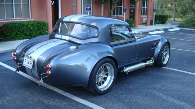 1965 shelby cobra replica with removable hard top and a c for sale photos technical. Black Bedroom Furniture Sets. Home Design Ideas