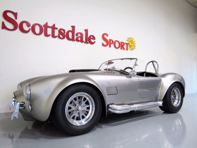 1965 Shelby SUPERFORMANCE MKIII 408ci V8 600++HP, TKO 600 TRANS, ALUM HEADERS, STU