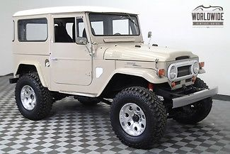 1965 Toyota Land Cruiser RESTORED V8 DISC BRAKE AUTO FJ