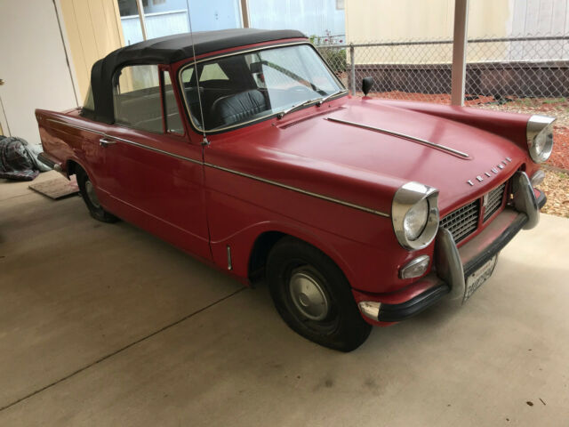 1965 Triumph Herald 1200 Convertible For Sale Photos