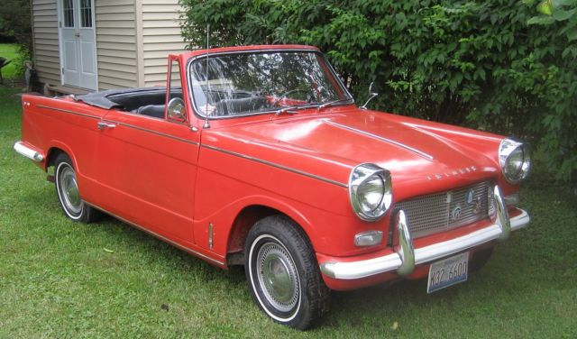 1965 TRIUMPH HERALD 1200 CHROME