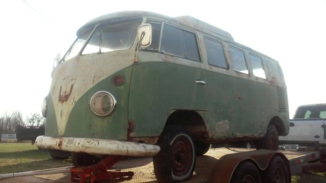 1965 volkswagen bus camper vw old split project westfalia