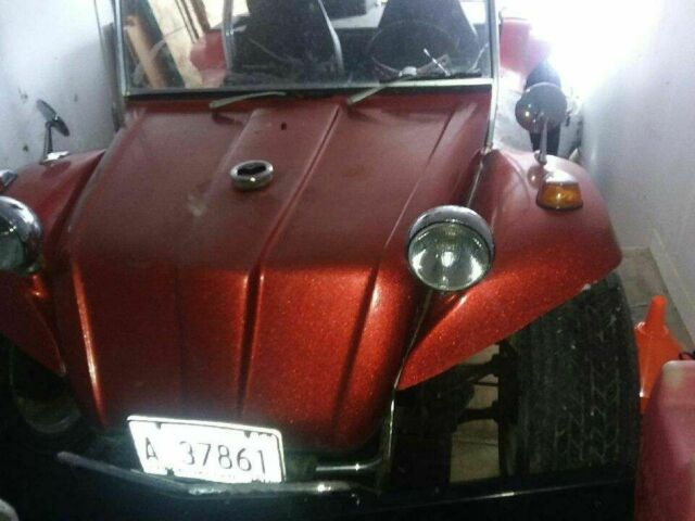 1965 Red Volkswagen Beetle - Classic Coupe with Black interior