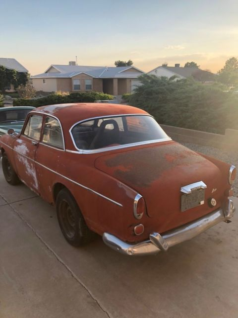 1965 Red Volvo 122 Amazon Coupe with Tan interior