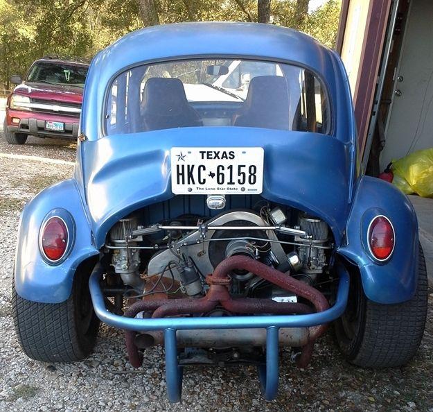 1965 VW Baja-Race Classic-1800-Duel Dellorto Carbs-Race
