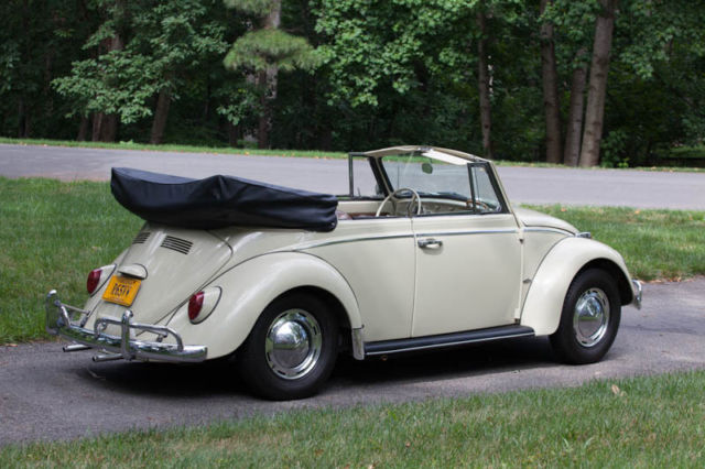1965 vw beetle convertible excellent condition for sale photos technical specifications. Black Bedroom Furniture Sets. Home Design Ideas